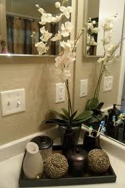 badezimmer deko badezimmer gestalten mit blumen und