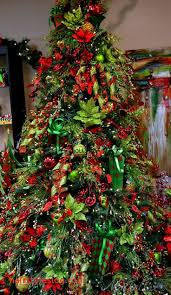 Luxury Design On Your White Christmas Tree With Red Green And Gold Decorations Encourage