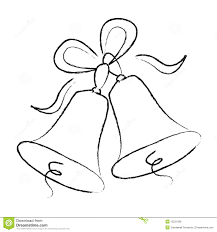 Wedding clipart outline 10