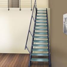 escalier 2 quart tournant leroy merlin escalier droit structure aluminium marche verre leroy merlin