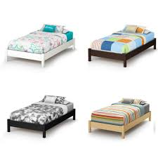 South Shore Soho Dresser by White Twin Platform Bed Southshore Step One Collection Twin Size