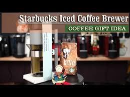 Starbucks Iced Coffee Brewer