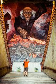 Jose Clemente Orozco Murales Hospicio Cabaas by State Government Palace Guadalajara Mexico A Jose Clemente
