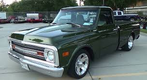 1969 Chevy C/10 Street Truck Cruisin' The Coast 2014 - YouTube