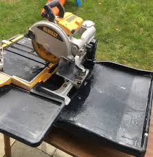 Husky Wet Tile Saw by Tile Wet Saw Down Seg Wet Saw Tile Saw Cuts Masonry Up To 25 In