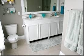 Bathroom Makeup Vanity Height by Remodelaholic How To Raise Up A Short Vanity