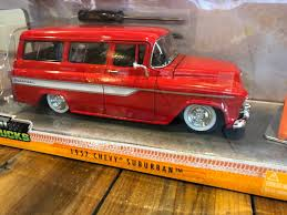 100 Just Trucks Jada 1957 Chevy Suburban 124 Diecast Car New In Box