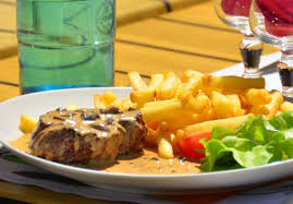 savoyard cuisine restaurant with takeaway food and csite shop