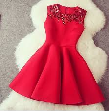 Gorgeous A Line Red Short Dress With Sequins Dresses In Stock CFMB4AGKV682AKGCXOI6C
