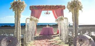 Sweet Pink Beach Wedding Ideas