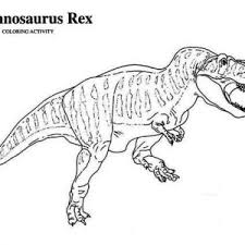 Awesome T Rex Coloring Pages Jurassic World Printable Page Astounding Ideas Is For Tyrannosaurus