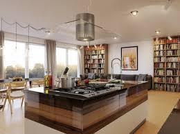 cuisine centre quelques exemples de joli aménagement de cuisine ouverte archzine fr