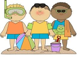Clipart Kids Summer Clothes