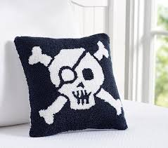 Pottery Barn Decorative Pillows by Skull U0026 Crossbones Decorative Pillow Pottery Barn Kids