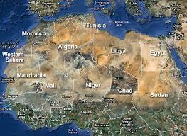 Countries Of The Sahara