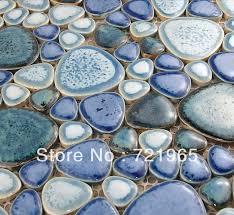 31 new blue pebble mosaic bathroom tiles eyagci