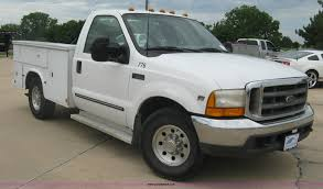 100 Ford F350 Utility Truck 2000 Utility Truck Item H8545 SOLD June 17 Ve