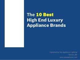 Best Appliance Brand Logos