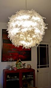 Regolit Floor Lamp Bulb by A Simple Affordable And Beautiful Diy Feather Lampshade Pillar