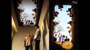 creative ceiling art in a smoking room youtube