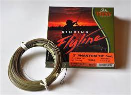 phantom 5ft sink tip fly line by jim teeny fly fishing gear