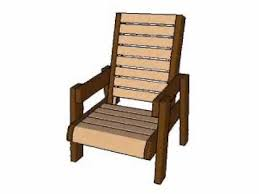 deck chair plans youtube
