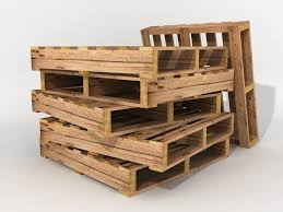 Pallets Boxes Crates And Warehouse Items For Game Design 3d Model Low Poly Max Obj