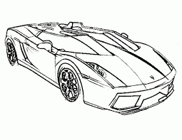 Dazzling Coloring Pages Cars Image 5