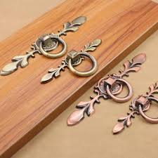 Cabinet Hardware Backplates Brass handle door picture more detailed picture about zinc alloy leaf