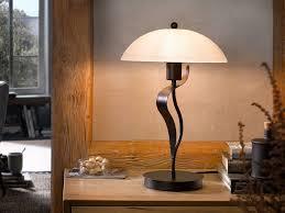 fischer honsel led tischleuchte mit glas len schirm landhaus stil antik design le für flur beleuchtung wohnzimmer große nachttischle