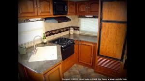 Travel Trailer Floor Plans Rear Kitchen by 2013 Keystone Passport 3100rk Rear Kitchen Travel Trailer Lerch Rv