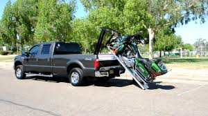 100 Truck Bed Motorcycle Lift Loader YouTube