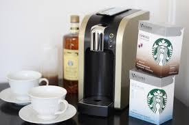 Caramel Macchiato With Starbucks Verismo This Beautiful Little Machine