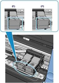 3 Confirm That The Ink Cartridge Locking Cover Is Closed Correctly