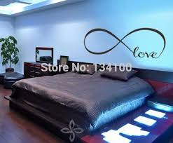 wandtattoo der liebe personalisierte infinity symbol schlafzimmer wandtattoo schlafzimmer dekor zitate vinylwandaufkleber 5 schmetterlinge