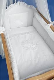 9 Piece Crib Baby Bedding Set 90 x 40 cm Fits Swinging Rocking
