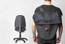 Recycled Office Chairs Transformed Into Hard-shell Backpacks ... Dke Fair Mid Back Office Chair Manufacturer From Huzhou Fulham Hour High Back Ergonomic Mesh Office Chair Computor Chairs Facingwalls Adequate Interior Design Sprgerlink Proceed Mid Upholstered Fabric Black Modway Gaming Racing Pu Leather Unlimited Free Shipping Usd Ground Free Hcom Highback Executive Heated Vibrating Massage Modern Elegant Stacking Colorful Ingenious Homall Swivel Style Brown