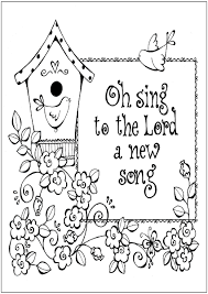 Thanksgiving Bible Verses Coloring Page