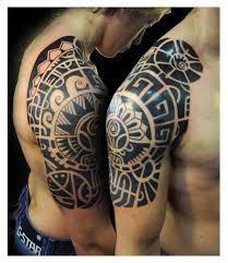 Polynesian Styled Half Sleeve By Vinoshitto