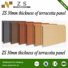 tile for exterior glazed cladding panel wall systems green