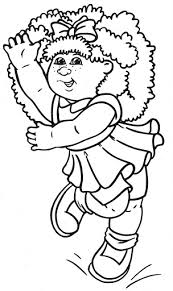 15 Excited When Coloring Happy Cabbage Patch Kids Pages