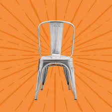 This Metal Chair Is In Every Cafe, Bistro, And Restaurant - Vox Diy Update Ding Chair Makeover The Bee In My Bonnet Whatever Wednesday Chairs Keeping It Simple How To Transform Ugly Tpierce1 Striped Ding Why You Should Never Buy From A Store Again Baby Kids Chic Surefit Cover Protector My Ugly Handmade 70s Chair Redo Crafts Howto Details About Us Stretch Covers Slipcovers Fitting Protective Upholster Family Hdyman Room Cane Redo Hooli Upholstered Before This Old And After All By I Used An Wood Table Outside Songbird