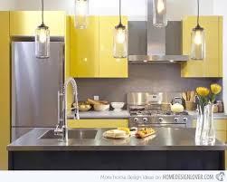 Yellow Modular Kitchen Ideas