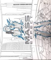 MASS EFFECT ADULT COLORING BOOK TP C 0 1 2
