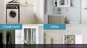 badezimmermöbel costway spiegelschrank badezimmer