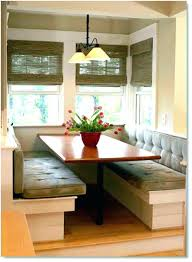 Booth Table Set Interior Dining Room Expert Kitchen Seating 4