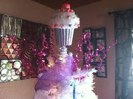 Cupcake Christmas Tree Topper Love
