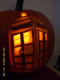 Easy Tardis Pumpkin Stencil by Tardis Pumpkin I Wish I Could Do That Doctor Who