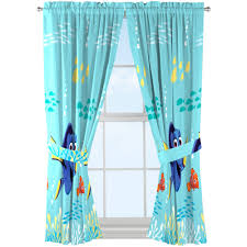 Finding Nemo Bathroom Theme by Disney Finding Dory Kids Bedroom Curtains Set Of 2 Walmart Com