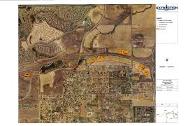 100 Truck Route Map Extraction Well Sites Broomfield Concerned A